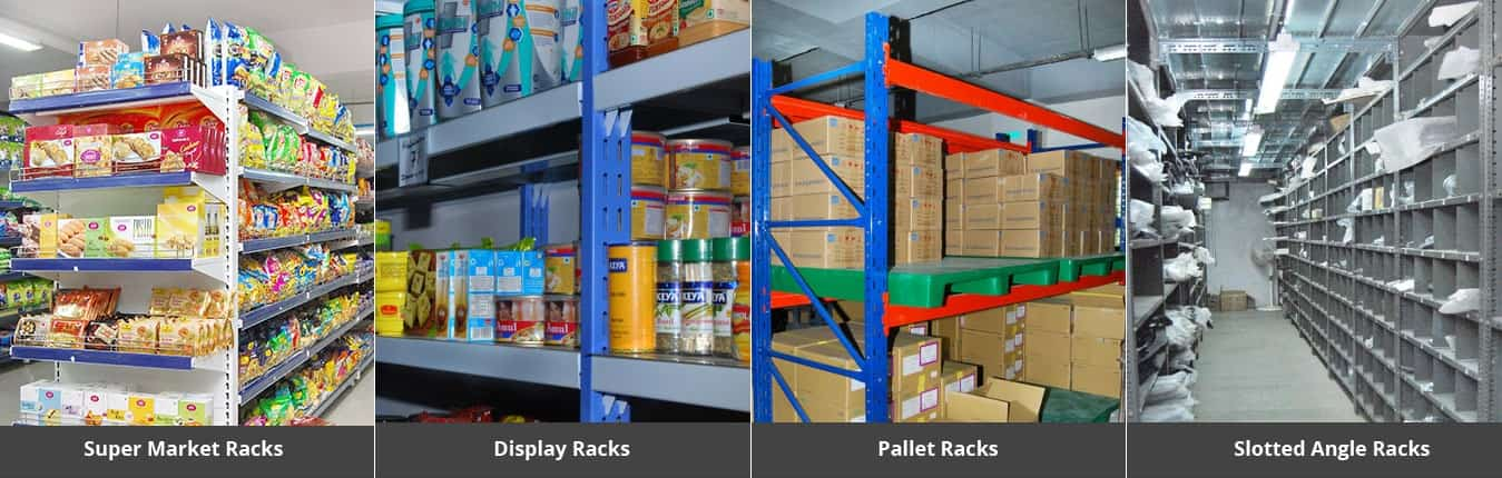Storage Racks Manufacturers and Suppliers in Hyderabad - Kanishk